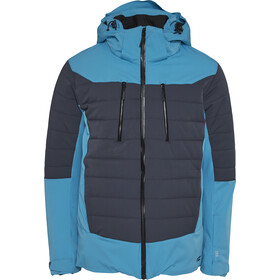 North Bend Hirafu Ski Jacket Men blue capri